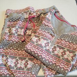 Nautica textured print pajamas S